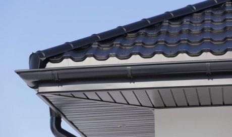 Habillage sous toiture zinc
